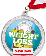 Weight Loss Medals