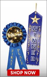 Winner Ribbons