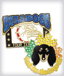 Custom Specialty Mascot Pins