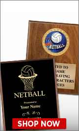 Netball Plaques