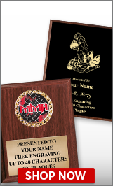 Mixed Martial Arts Plaques