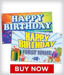 Custom Birthday Banners