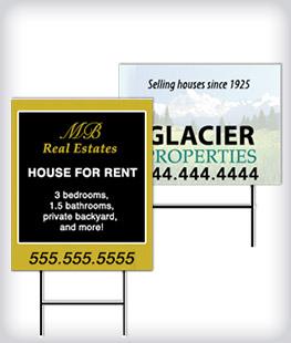 Custom Real Estate Signs