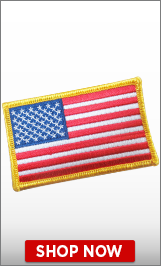 Columbus Day Flag Patch
