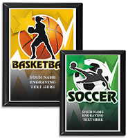 Rectangle Thunder Plaques