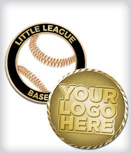 Custom Little League Coins