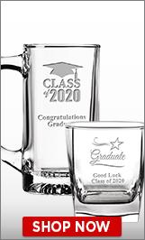 Class Of 2020 Glassware