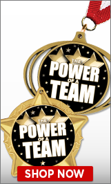 Power Of A Team Medals