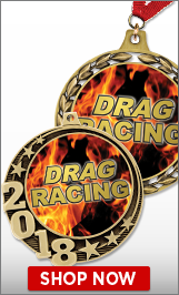 Drag Racing Medals