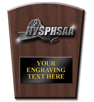 NYSPHSAA Regional Plaque