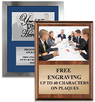 Corporate Photo Plaques