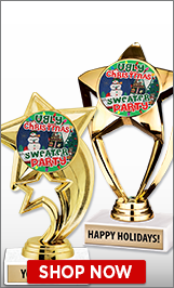 Ugly Sweater Trophies - Ugly Sweater Medals - Ugly Sweater Plaques ...