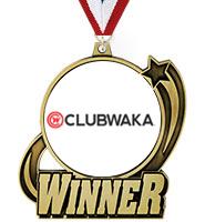 """3"""" Winner Medal"""