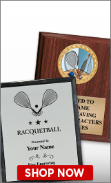 Racquetball Plaques