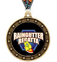 Universe Star Raingutter Regatta® Insert Medal
