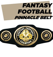 Pinnacle Fantasy Football Belt