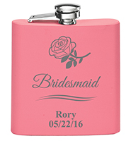 Pink Stainless Steel Flask