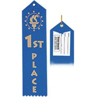 1st Place Award Ribbon