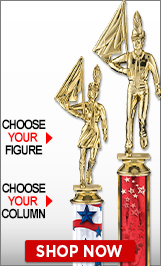 Color Guard Column Trophies