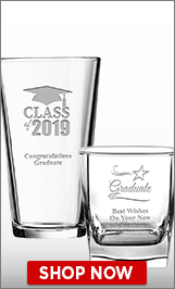 Class Of 2019 Glassware