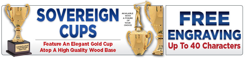 Sovereign Economy Cup Trophies