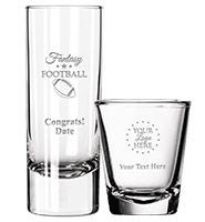 Fantasy Football Shot Glasses