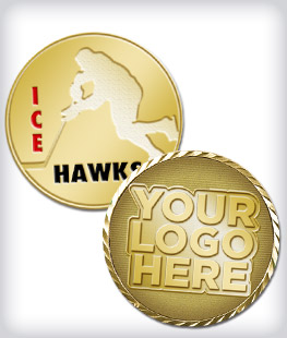 Custom Hockey Coins