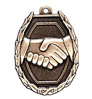Friendship/Handshake Medals