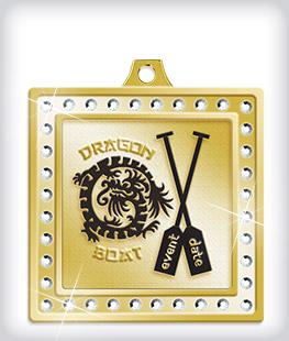Rhinestone Custom Dragon Boat Medals