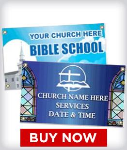 Custom Religious Banners