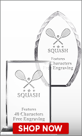 Squash Crystal Awards