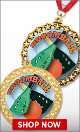 Broomball Medals