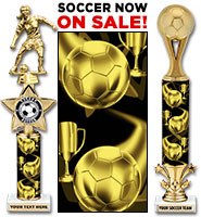 Black & Gold Soccer Columns