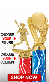 Lacrosse Column Trophies