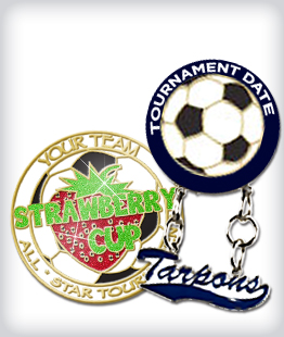 Custom Specialty Soccer Pins