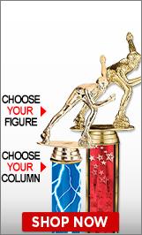 Inline Skating Column Trophies