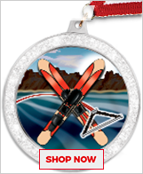Water Skiing Medals