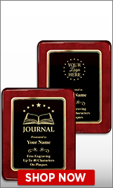 Journalism Awards Plaque