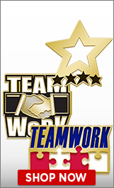 Teamwork Lapel Pins