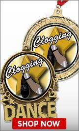 Clogging Medals