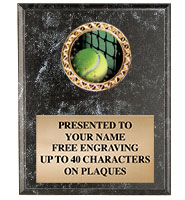 Black Marbleized Vertical Insert Plaques
