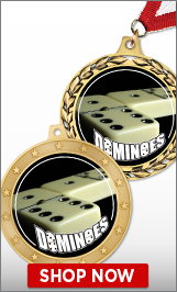 Dominoes Medals