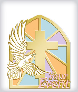 Custom Soft Enamel Religious Pins