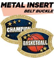 Metal Insert Belt Buckle