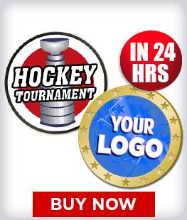 Custom Insert Hockey Pins