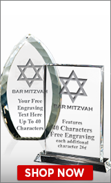 Bar Mitzvah Crystals