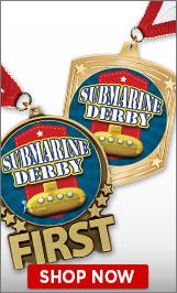 Submarine Derby Medals