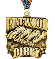 "2"" Pinewood Derby Race ® Medals"