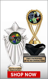 Paintball Trophies