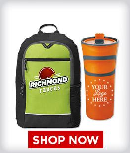 Custom Bags And Drinkware Items